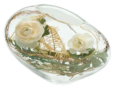 composition florale rose blanche. Black Bedroom Furniture Sets. Home Design Ideas