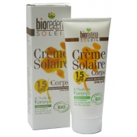 CREME SOLAIRE corps 15 SPF protection solaire